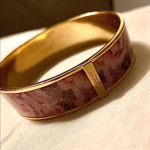 Coach flower bracelet